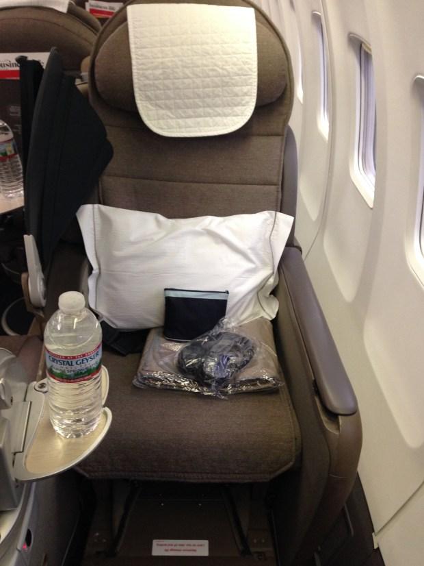 Openskies biz bed seat