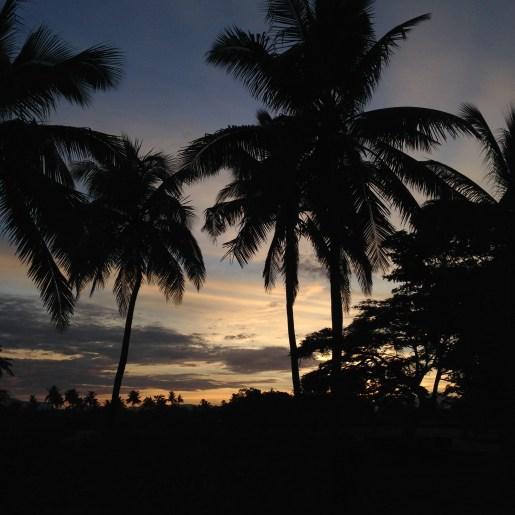 Nadi at sunset