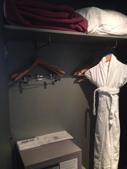 Closet, robe, extra blankets