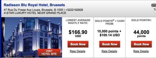 ~$350 for 2 nights in Brussels