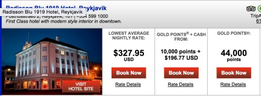 Another great value in Iceland. ~$656 in Reykjavik