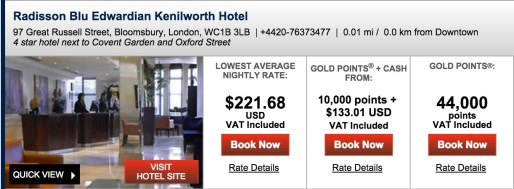 ~$443 for 2 nights in London