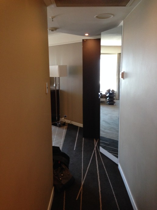 Entranceway to the room