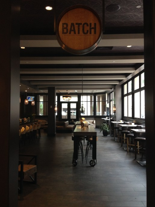 Batch, the wine bar/cocktail lounge