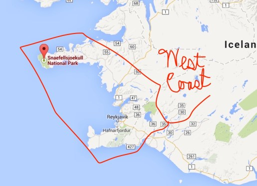 "The ""west coast"""