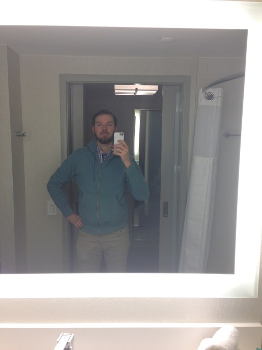 Class bathroom mirror selfie ;)