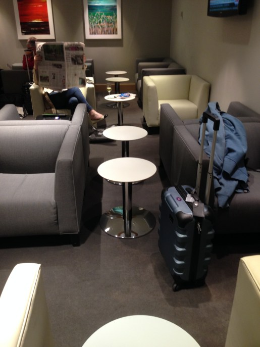 Aer Lingus Gold Circle Lounge seating