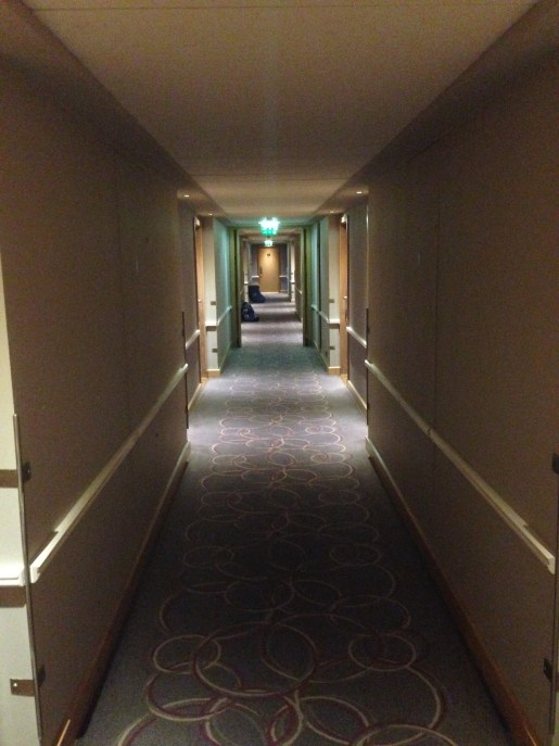 Hallway leading to Room 315