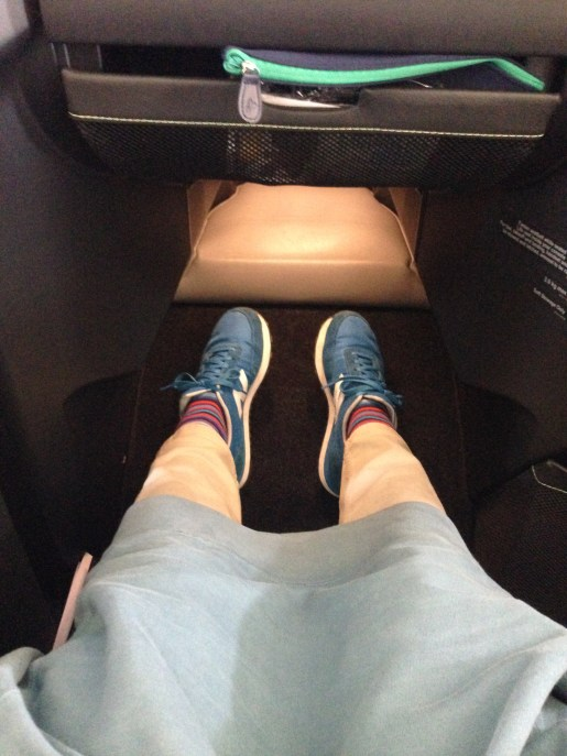 Oh, and plenty of leg room!