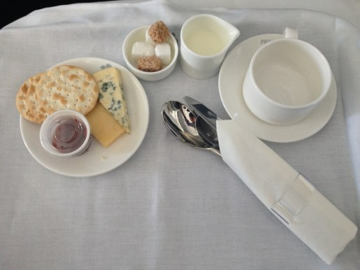 Cheese board and afternoon tea (Not pictured: Bailey's)