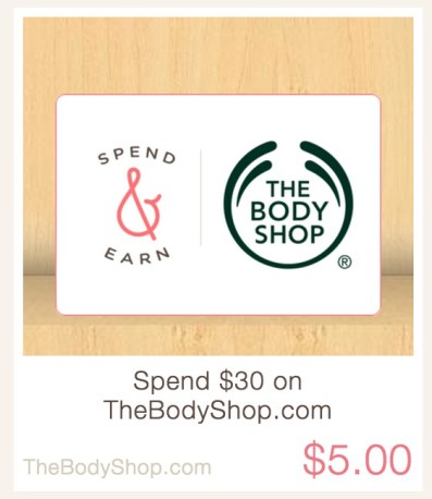 The Body Shop is an Ibotta partner