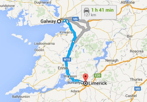 Through Shannon to Limerick