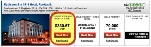 ~$331 a night in October