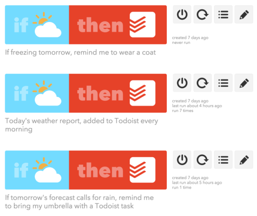 IFTTT + Todoist is awesome