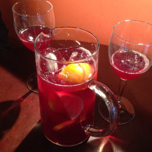 Sangria every day. NOM!