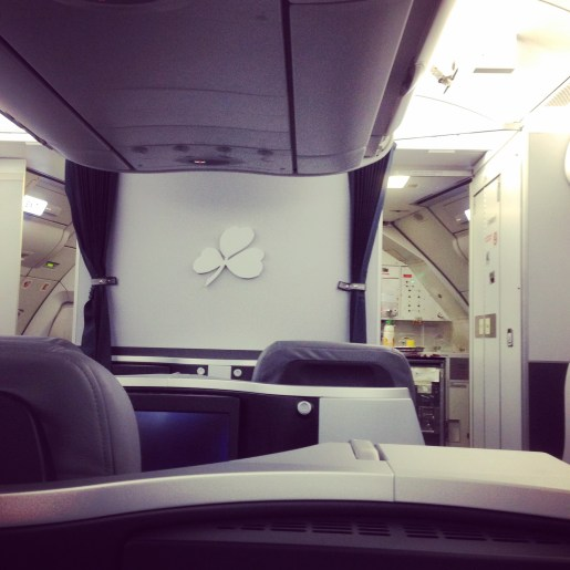 I flew to Dublin in Business Class by transferring my points to British Airways