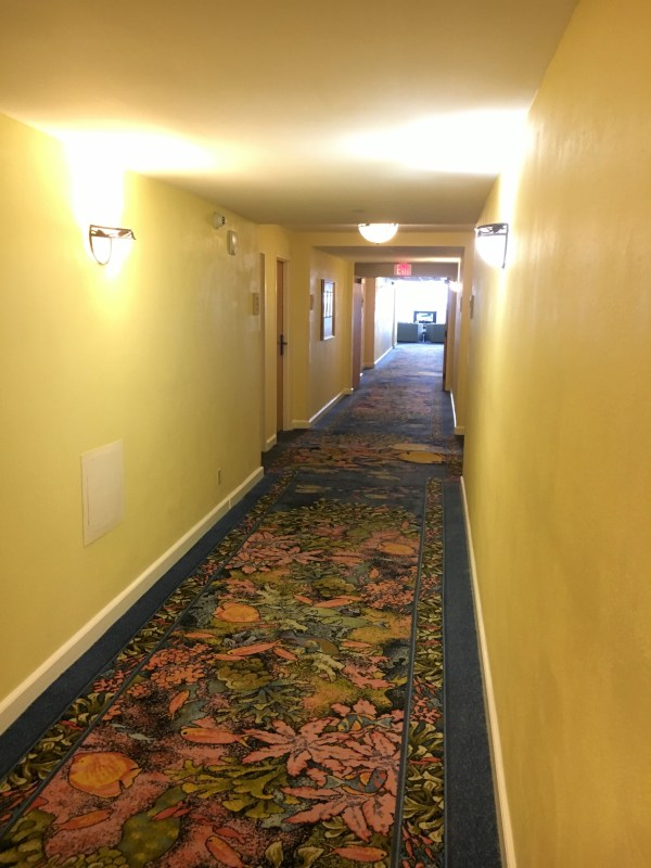 Hallways of the Atlantis Beach Tower