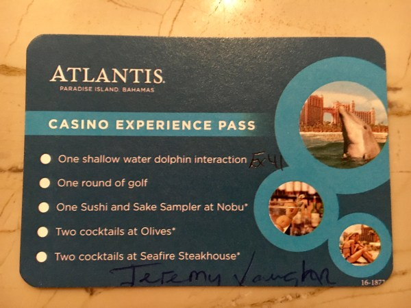My Casino Experience Pass