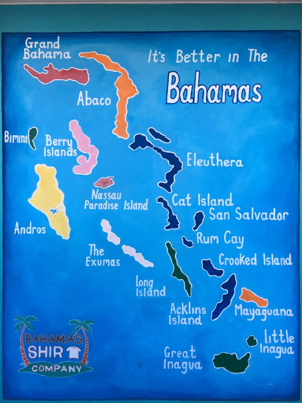 There are 700+ islands in the Bahamas
