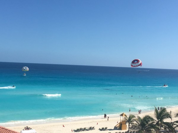 There's also parasailing, diving, and snorkeling