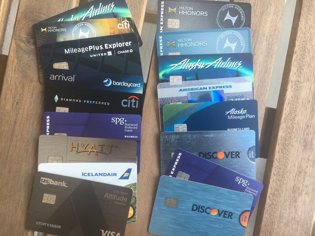 Credit Card Inventory: The 29 Credit Cards I Currently Have - and Why