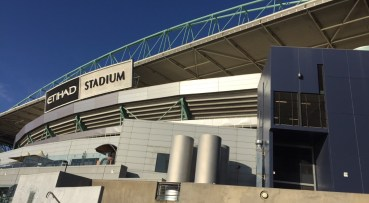 The Etihad Stadium