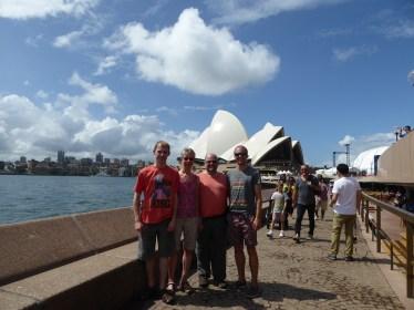 Family & Sydney Opera House