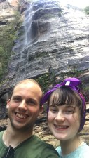 Leura Cascade selfie