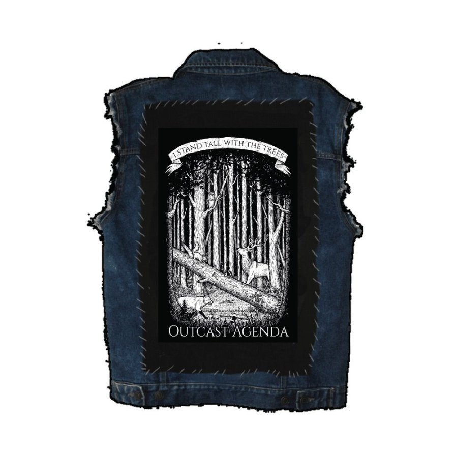 Outcast Agenda Stand Tall Back Patch