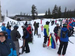 LGBTQ Ski Weekend Mt Bachelor Group 3