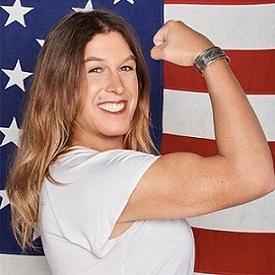Kristin Beck American Flag