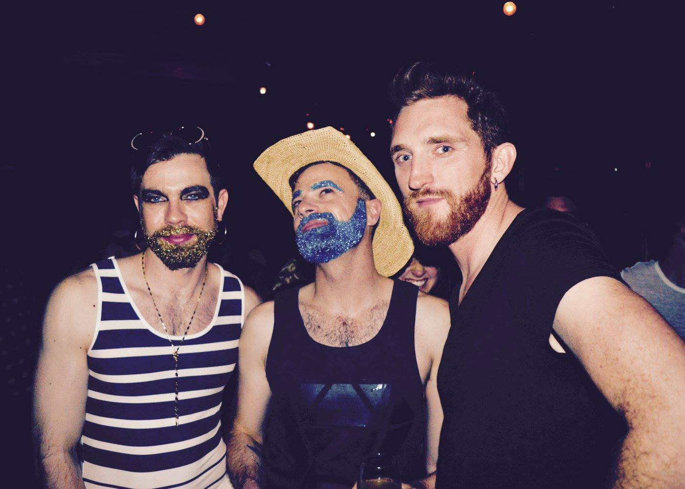 Hey Honey Glitter Beards Queer Bend