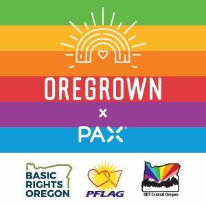 Oregrown Pax Basic Rights Oregon PFLAG and OUT Central Oregon Pride Poster
