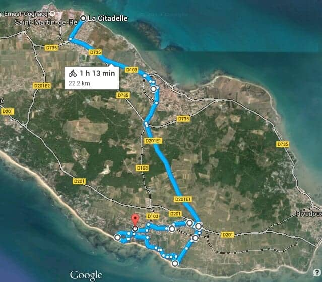 Bike tour on Ile de Re