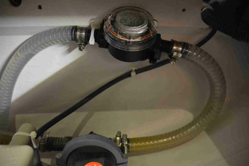 Shower Pump Filter
