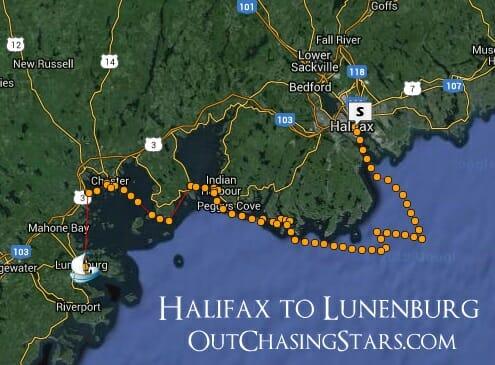 Halifax to Lunenburg