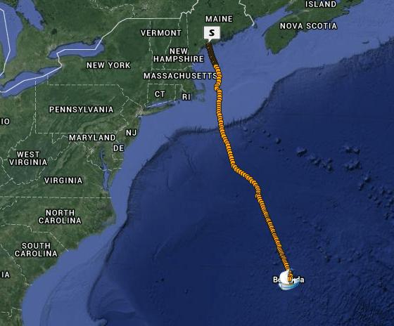 Maine to Bermuda
