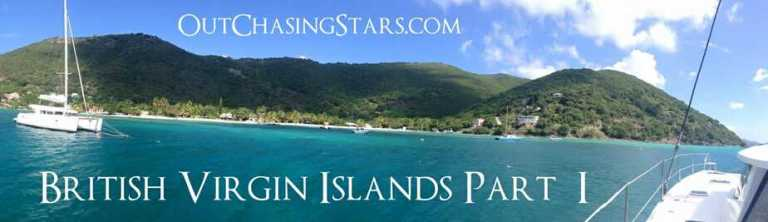 British Virgin Islands:  10-Day Sailing Itinerary
