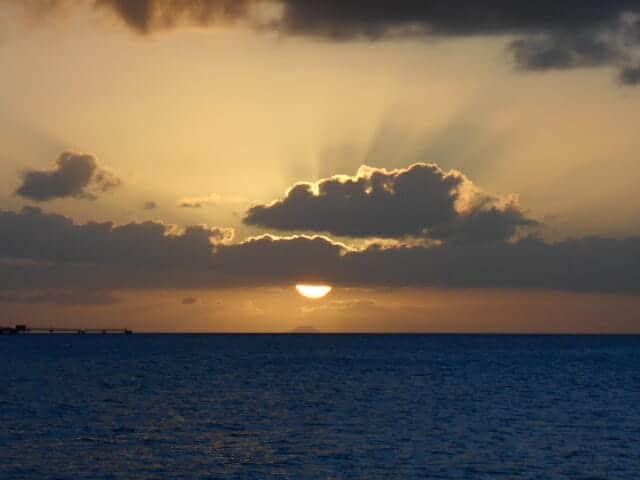 Stunning sunset.