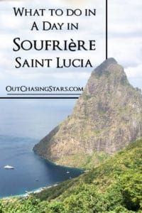 What to do in a day in Soufriere, Saint Lucia - pitons.