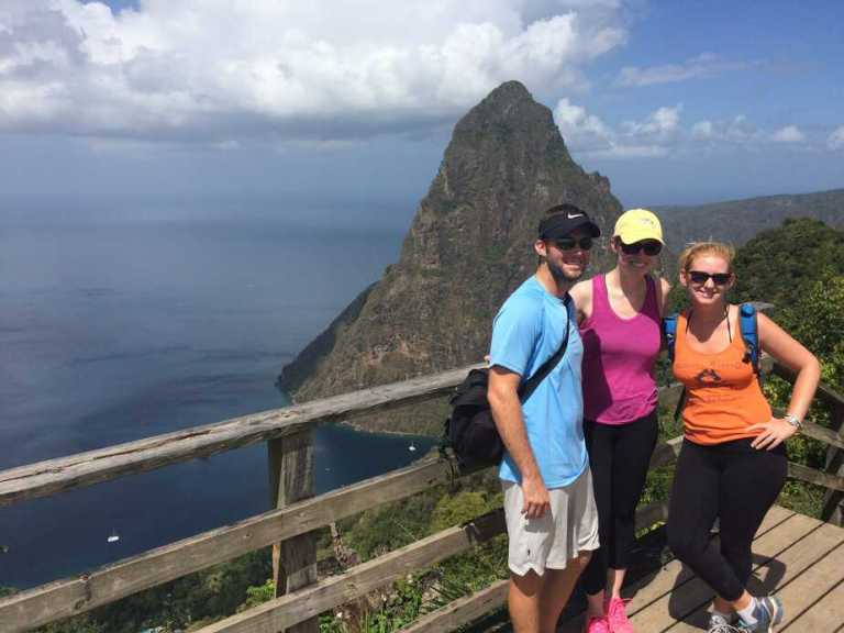 Saint Lucia:  A Day at Soufrière and the Pitons