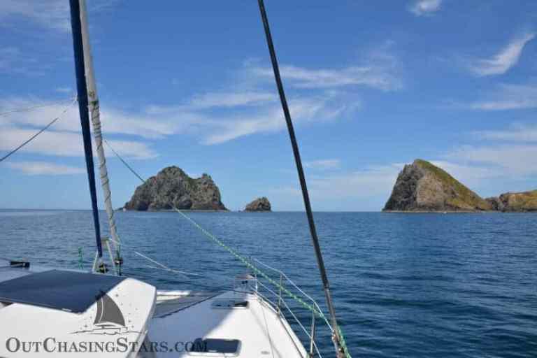 Sailing Opua to Whangarei