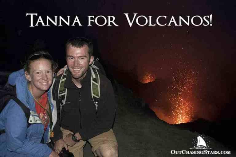 Erupting Mount Yasur Volcano on Tanna Island, Vanuatu