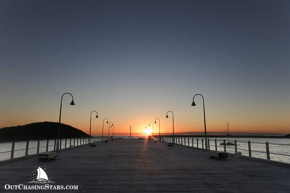 Sunset at the Jetty in Coffs Harbour.