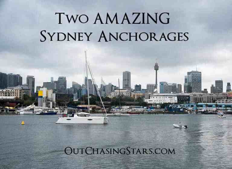 Two Amazing Sydney Anchorages