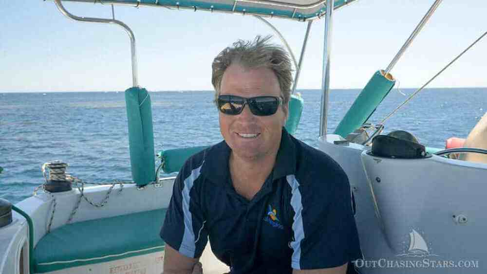 Luke, the owner of Sail Ningaloo.