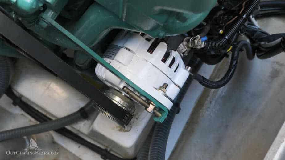 alternators for lithium boat batteries