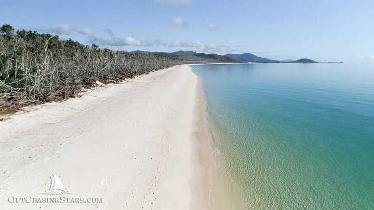 Whitsunday Island:  1st Stop Cruising the Whitsundays