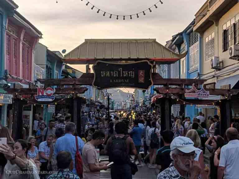 Lardyai – Phuket Walking Street on Sunday Night