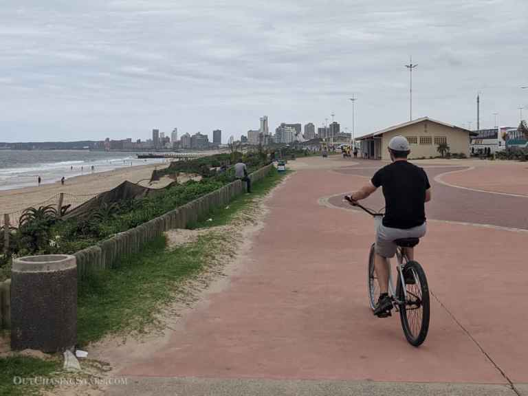 Cycling Durban's Waterfront: The Golden Mile